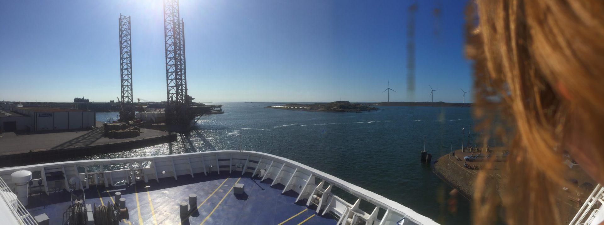 Op reis- Ontmoeting op zee